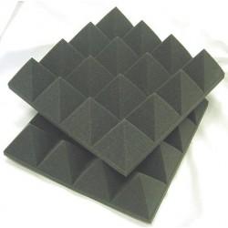 10 m2 3 cm lichtgrijs piramideschuim