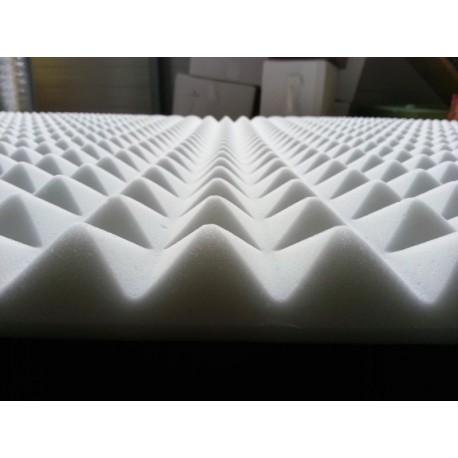 Witte piramideschuim geluidsisolatie platen